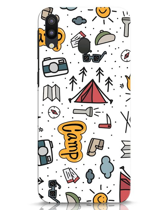 Shop Camp Samsung Galaxy M20 Mobile Cover-Front