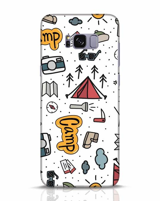 Shop Camp Samsung Galaxy S8 Plus Mobile Cover-Front