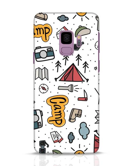 Shop Camp Samsung Galaxy S9 Mobile Cover-Front