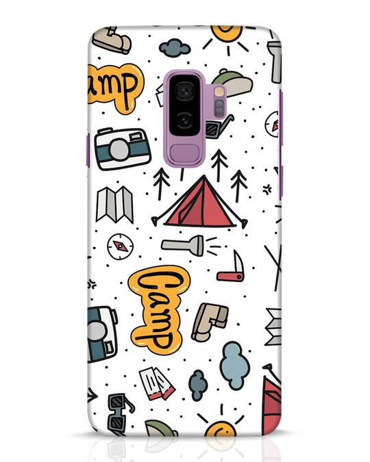 Shop Camp Samsung Galaxy S9 Plus Mobile Cover-Front