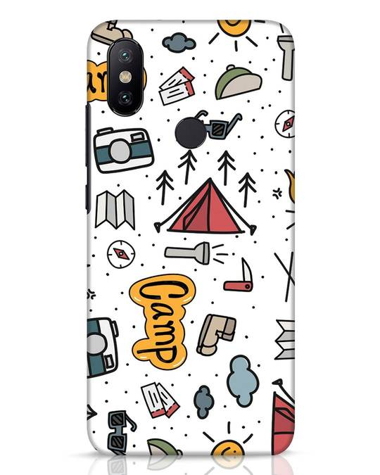 Shop Camp Xiaomi Mi A2 Mobile Cover-Front