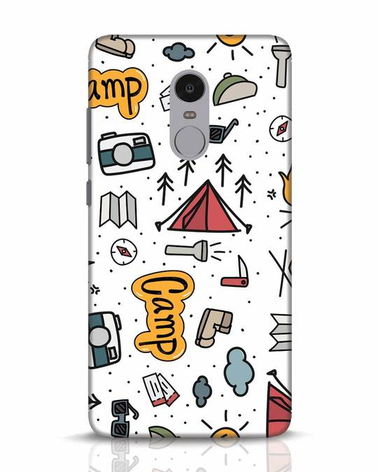 Shop Camp Xiaomi Redmi Note 4 Mobile Cover-Front