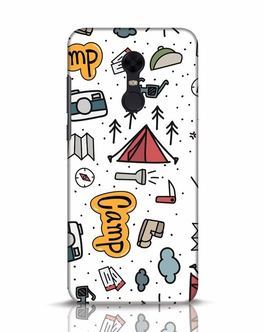 Shop Camp Xiaomi Redmi Note 5 Mobile Cover-Front