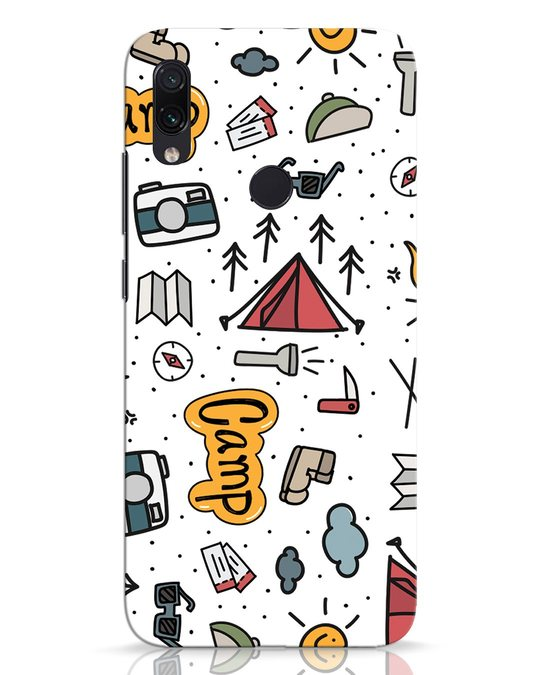 Shop Camp Xiaomi Redmi Note 7 Pro Mobile Cover-Front