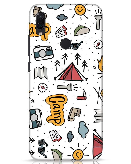 Shop Camp Xiaomi Redmi Note 7s Mobile Cover-Front