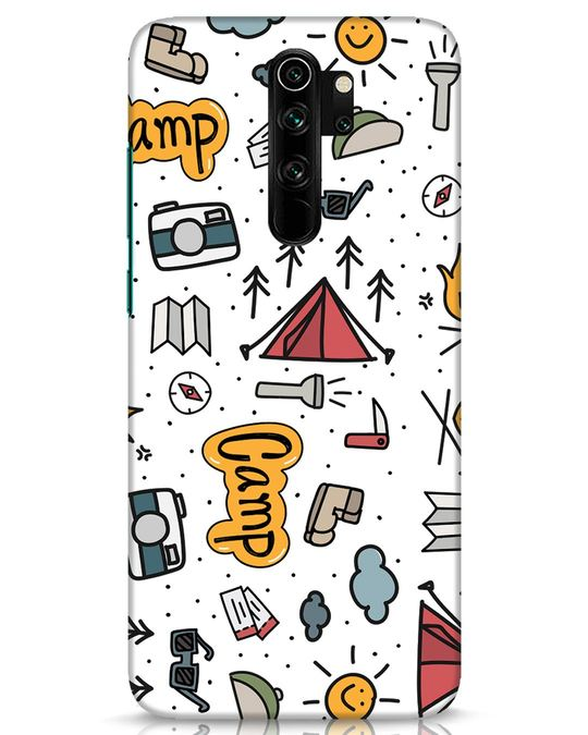 Shop Camp Xiaomi Redmi Note 8 Pro Mobile Cover-Front