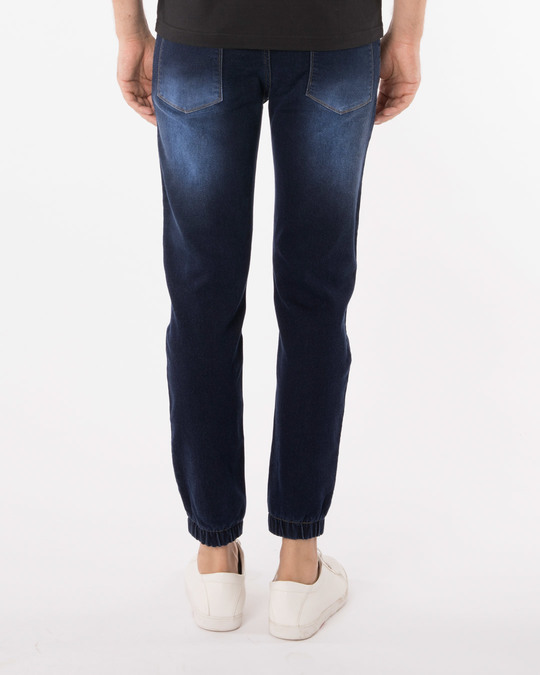 Shop Camper Blue Denim Joggers-Full