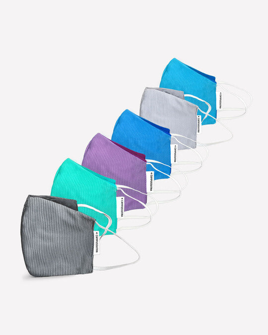 Shop Anti Microbial Fabric Mask-Front