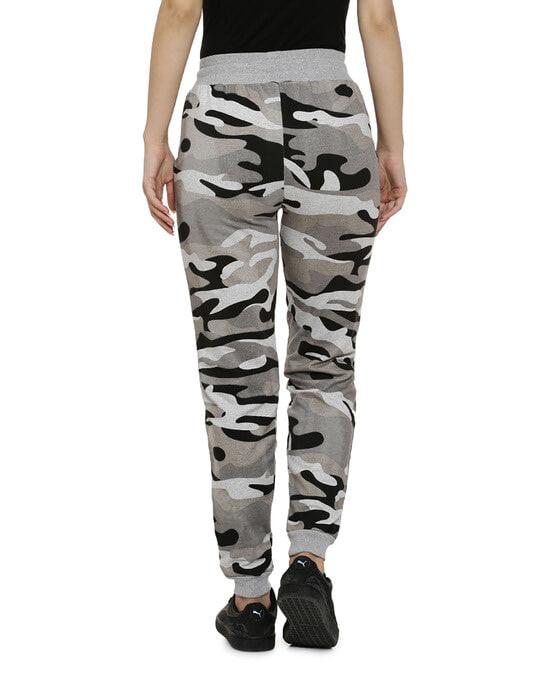 Shop Camouflage Track Pants-Back