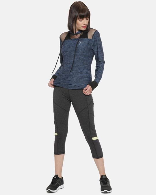 Shop Full Sleeve Colorblock Women Sports Jacket-Full