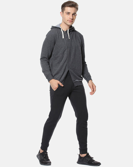 Shop Campus Sutra Full Sleeve Solid Men Casual Zipper Jacket-Full