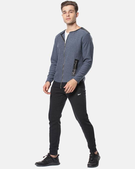 Shop Campus Sutra Full Sleeve Solid Men Casual Zipper Jacket-Full
