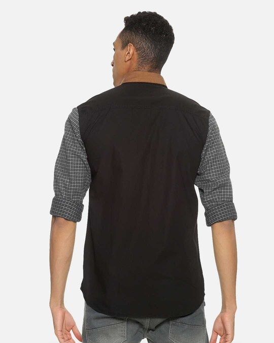 Shop Campus Sutra Men Brown Neck Shirt-Design