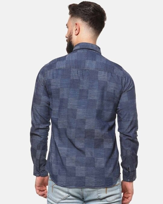 Shop Campus Sutra Men Casual Checkered Shirt-Design
