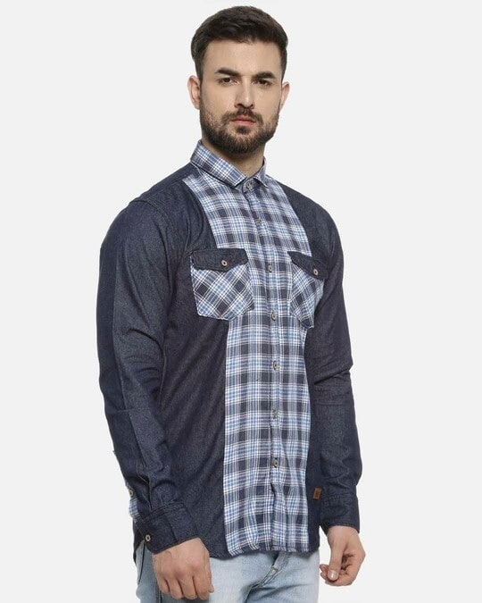 Shop Campus Sutra Men Casual Shirts-Back