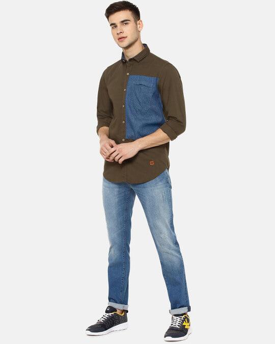 Shop Campus Sutra Men Casual Shirts-Full