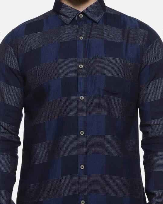 Shop Men Checkered Casual Shirt