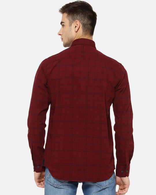 Shop Campus Sutra Men Checks Casual Shirt-Design