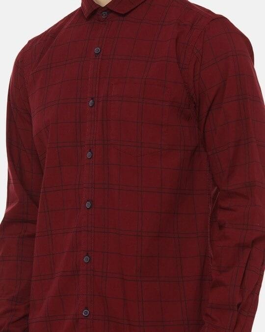 Shop Campus Sutra Men Checks Casual Shirt