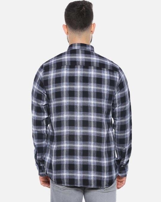 Shop Men Checks Stylish New Trends Spread Casual Shirt-Design