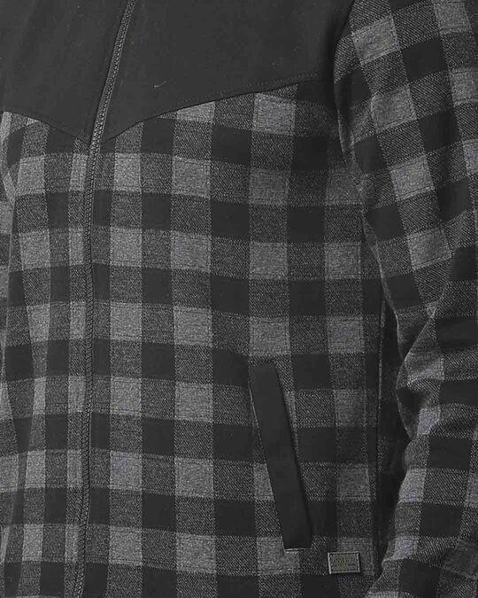 Shop Campus Sutra Men Checks Stylish Casual Jacket
