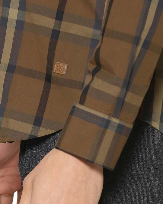 Shop Campus Sutra Men Checks Stylish Casual Shirts