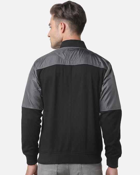 Shop Campus Sutra Men Colorblocked Stylish Casual Jacket-Design
