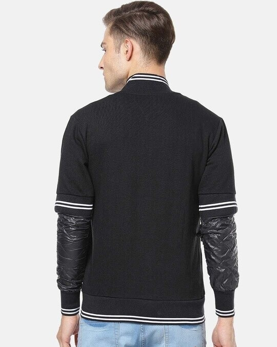 Shop Campus Sutra Men Full Sleeve Solid Stylish Casual Jacket-Design