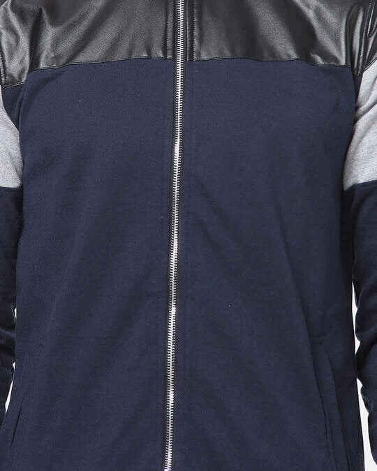 Shop Campus Sutra Men Full Sleeve Solid Stylish Casual Jacket