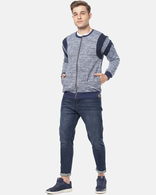 Shop Campus Sutra Men Full Sleeve Solid Stylish Casual Jacket-Full