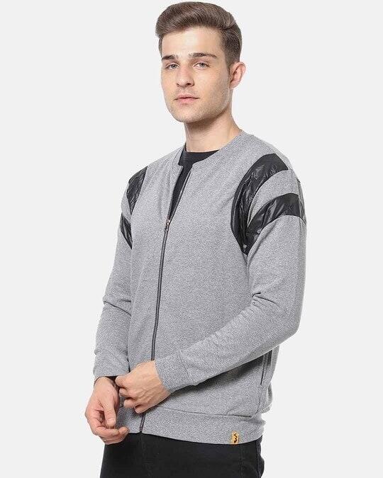 Shop Campus Sutra Men Full Sleeve Stylish Casual Jacket-Back