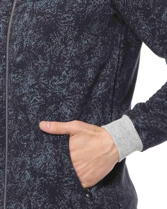 Shop Campus Sutra Men Graphic Design Stylish Casual Jacket