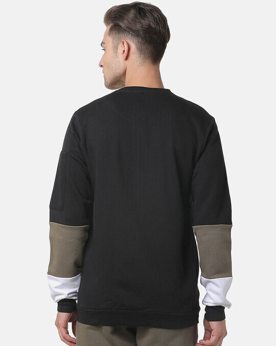 Shop Campus Sutra Full Sleeve Solid Men Casual Zipper Sweatshirt-Design