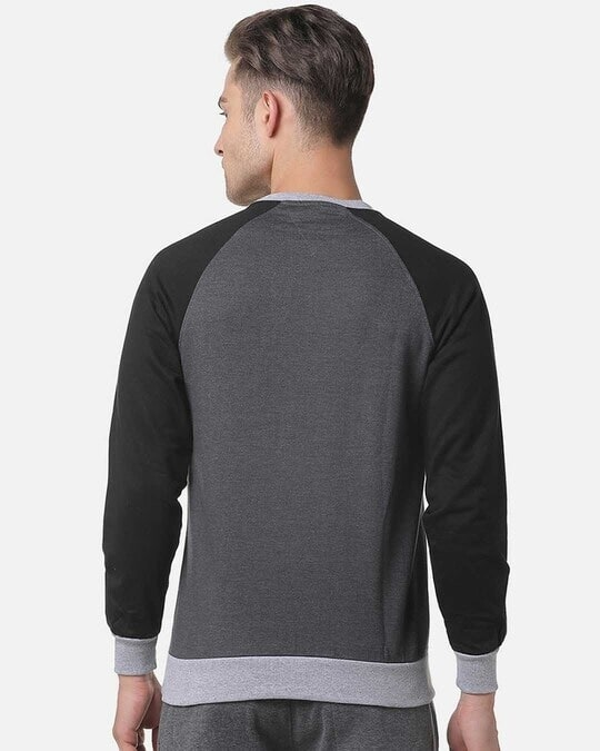Shop Campus Sutra Full Sleeve Solid Men Casual Sweatshirt-Design