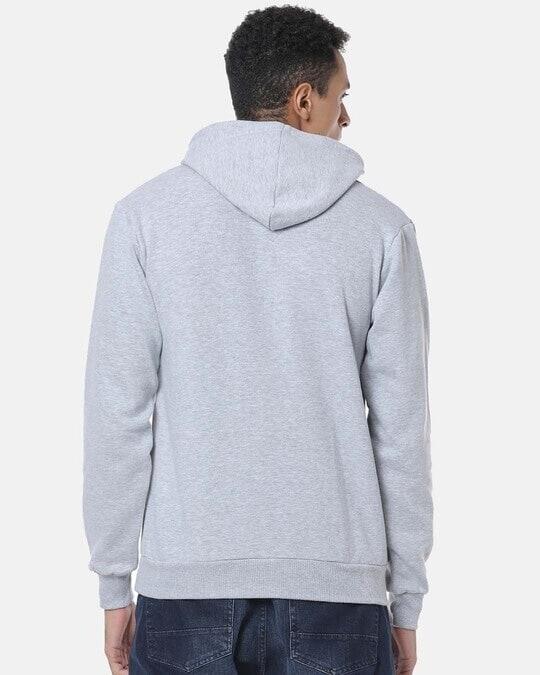 Shop Men Stylish Solid Casual Hooded Sweatshirt-Design
