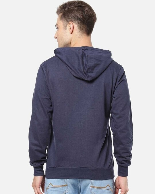 Shop Men Stylish Solid Casual Hooded Sweatshirt-Design