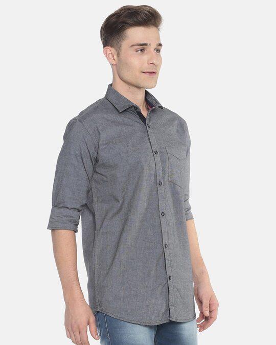 Shop Men's Solid Full Sleeve Stylish Casual Shirt-Full