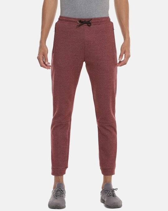 Shop Men Solid Stylish Casual & Evening Trackpant-Front