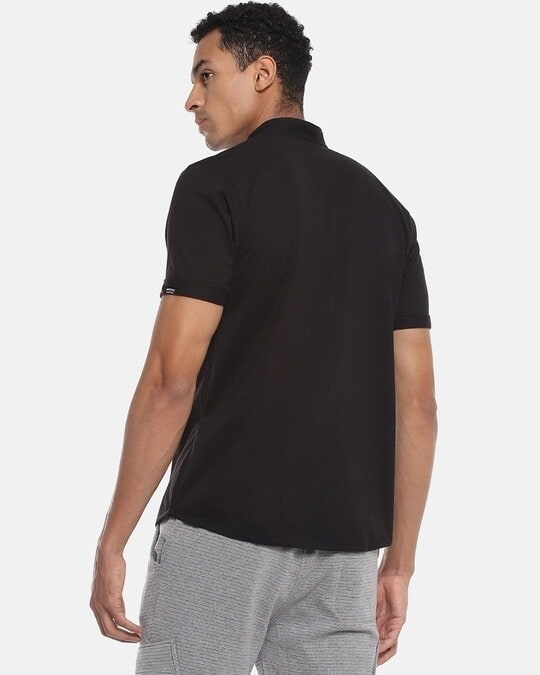 Shop Men Solid Stylish Half Sleeve Casual Shirts-Design