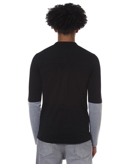 Shop Men Solid Stylish New Trends Casual Mandarin Shirt-Design