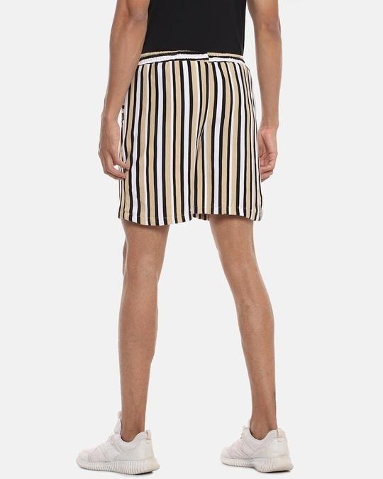 Shop Men Striped Stylish Sports & Evening Shorts-Design