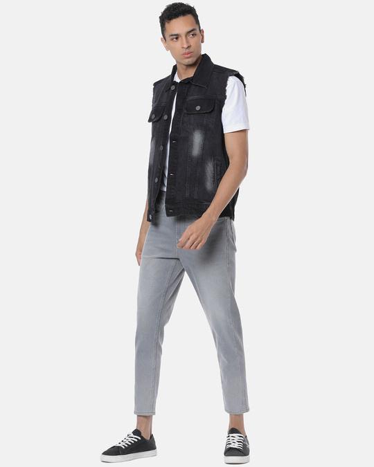 Shop Campus Sutra Men Stylish Casual Denim Jacket-Full