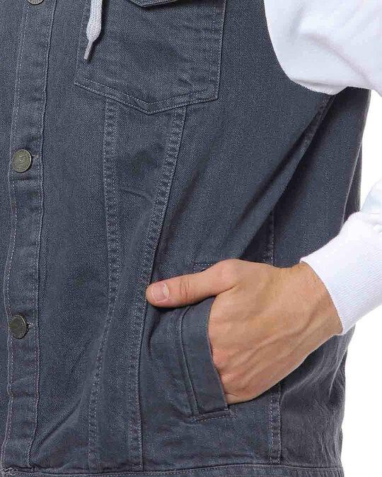 Shop Campus Sutra Men Stylish Casual Denim Jacket