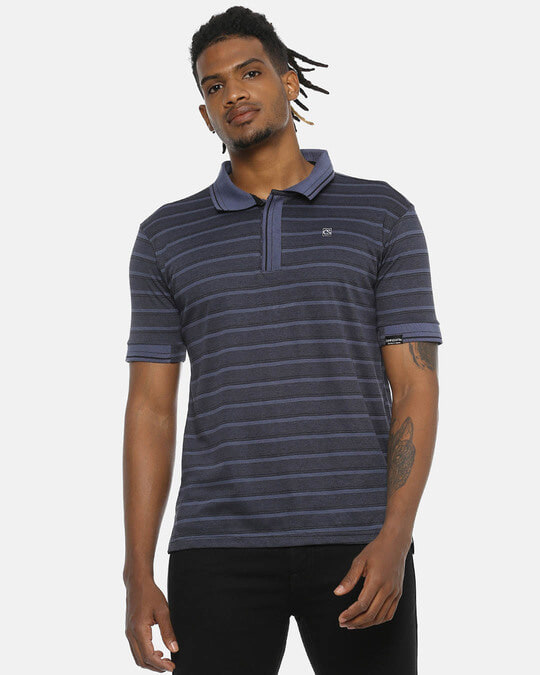 Shop Men Stylish Casual Polo T Shirts-Front
