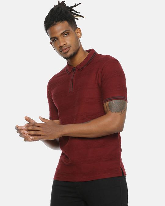 Shop Men Stylish Casual T Shirt-Back