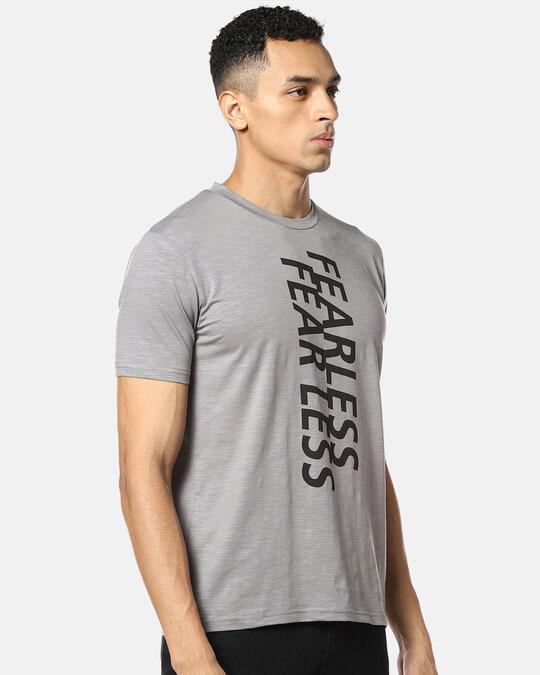 Shop Men Stylish Print Round Neck Casual T Shirt-Back
