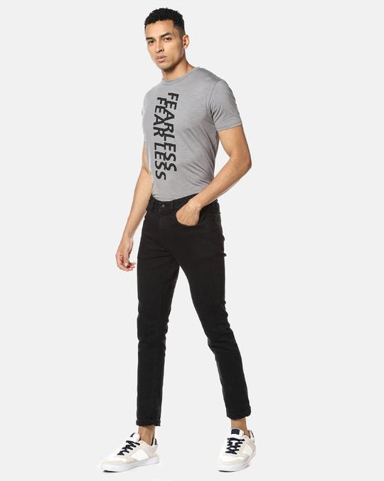 Shop Men Stylish Print Round Neck Casual T Shirt-Full