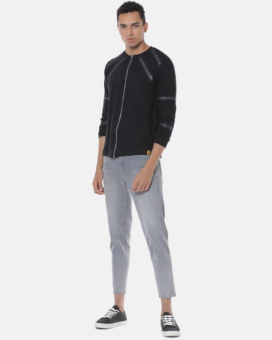 Shop Men Stylish Solid Casual Jacket-Full
