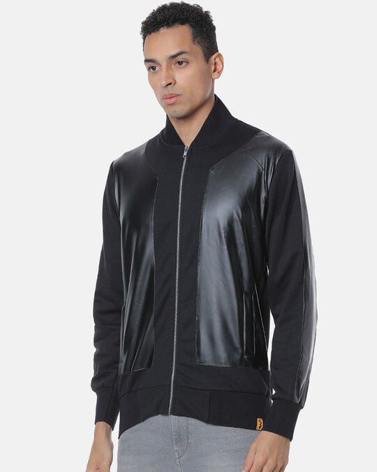 Shop Campus Sutra Men Stylish Solid Casual Jacket-Back