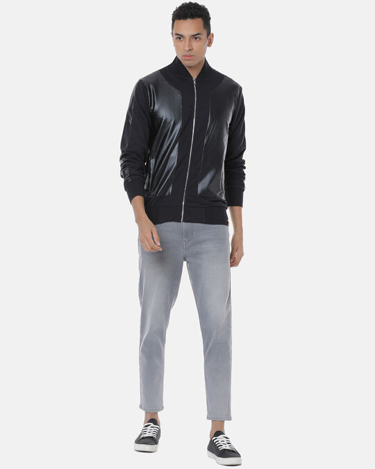 Shop Campus Sutra Men Stylish Solid Casual Jacket-Full